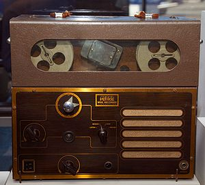 Peirce 55-B dictation wire recorder from 1945....